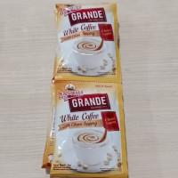 KAPAL API GRANDE WHITE COFFEE WITH CHOCO TOPPING (1 RENTENG 10 SACHET)