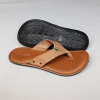 Sandal Pria Kickers Empire Casual / Sendal Kulit Build Up Premium.