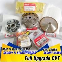 UPGRADE CVT Beat Karburator Pulley Beat Rumah Roller Beat Fi Kampas - Type Karburator