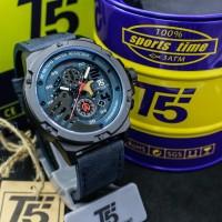 T5 H3703 HITAM BIRU jam tangan pria cowok chronograph original TERBARU