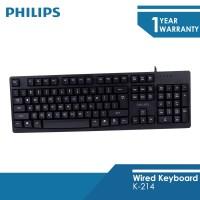 Philips Wired Keyboard K-214