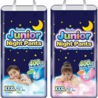 Mamypoko Junior Night Pants Boy Boys Girl Girls XXXL 24 / XXXL24