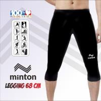 Celana baselayer pendek celana sepeda gowes manset legging 68cm MINTON