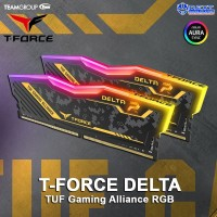Team Delta TUF DDR4 RGB PC21000 2666 16GB 2x8GB TF9D416G2666HC18HDC01
