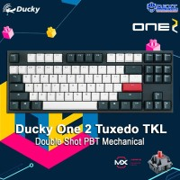 Ducky One 2 Tuxedo TKL Double Shot PBT Mechanical Keyboard