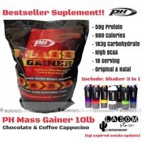 PH MASS GAINER 10 lbs / PH Nutrition / ProHybrid / Pro Hybrid