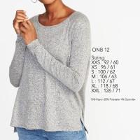 OLD NAVY Shirt Raglan Soft - kaos wanita original