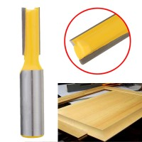 """1/2"""" Shank 3/8"""" W 3/4"""" H Straight Dado Router Bit For Woodworking"""