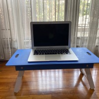 Meja Belajar Lipat Laptop Portable Anak mengaji Kayu Bagus Murah