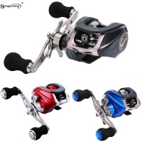 ---- Baitcasting Fishing Reel 17+1BB 6.3:1 Gear Ratio Max Drag 8kg