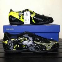 Termurah ! Sepatu Futsal Mizuno Ryuou IN Black yellow Original