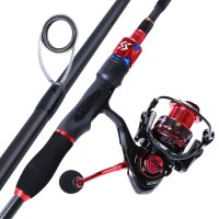 Souyilang Baitcasting Fishing Reel Baitcasting Fishing Rod Set