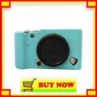 RK540 Silicone Case For Fujifilm X-A3 - Biru