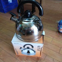 teko air panas 3 L stainless steel / pemanas air / teko air panas