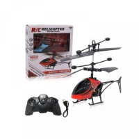 COD RC Helikopter Mini Remote Control Infrared Induksi 2CH with LED Li