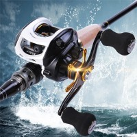 ---- Baitcasting Fishing Reel Gear Ratio Max Drag 4kg 7.1:1 Gear