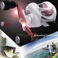 ---- Baitcasting Fishing Reel Penggulung 18+1BB 6.3:1 Gear Ratio