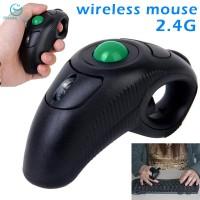 Flash sale USB 2.4GHZ Wireless Finger HandHeld Trackball Mouse Mice