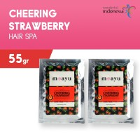 [2 pcs] MOAYU HAIR SPA STRAWBERRY 55 GR