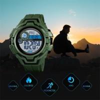 SKMEI Kompas Pendakian Olahraga Jam Tangan Pria Multifungsi Men Anti