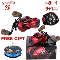 ---- Baitcasting Fishing Reel Metal Baitcasting Fishing Reel 9+1BB