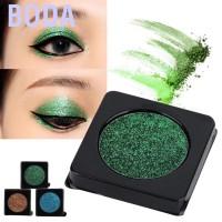 BODA Eyeshadow Aksen Glitter Warna Hijau/Biru/Coklat Tahan Lama