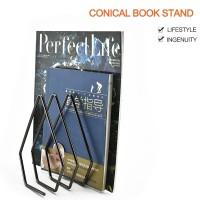 Rak Buku Bahan Besi untuk Majalah