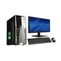 PC intel Rakitan CORE i.5 Ram 16 gb Murah plus led LG key mousr s