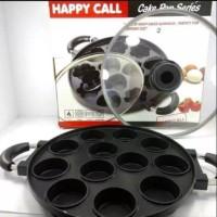 Cetakan loyang martabak mini 12 lubang Happycall lapis teflon