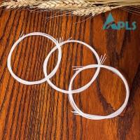 4Pcs / Set Senar Nylon Pengganti Warna Putih untuk Gitar Ukulele 21