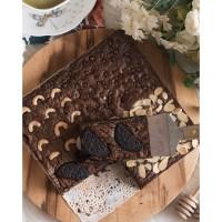 Brownies Dark Chocolate 4 Topping Mix