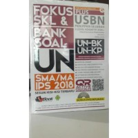 Lastymall Buku Fokus Skl & Bank Soal Un Sma/Ma Ips 2018 Oleh Tim