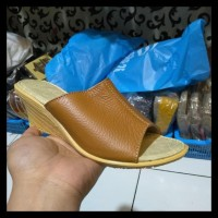 sandal wanita kulit sapi asli