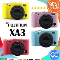 FUJIFILM SILICONE CASE FOR X-A3 MIRRORLESS CAMERA XA3 TAS SARUNG