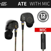 Terlaris Knowledge Zenith Kz Ate In Ear Earphone - Hitam Berkualitas