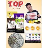 Big Sale Pasir Kucing Gumpal Wangi Top Cat Litter 20Kg Pasir Bentonite