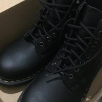 Dr Martens 1460 Black 8 Eye Boot Leather Shoes