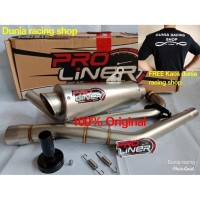Knalpot Proliner TR 1 R Long New Satria Fu injeksi Titan full system