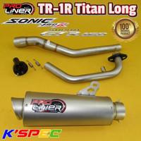 Knalpot ProLiner TR-1R Titan Long SONIC 150 R & SUPRA GTR 150 Diskon
