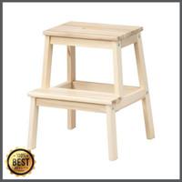 BEKVAM Bangku Tangga 2 Step Kayu Aspen Ikea Wooden Step Stool Murah