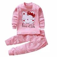 Piyama Anak Perempuan kualitas import | Baju anak | Piyama premium - 2-3th
