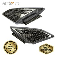 Tutup Pijakan Belakang / Body Samping Carbon NEMO for Yamaha Nmax 2020