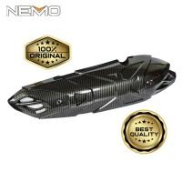 Pelindung Knalpot Carbon Nemo For Yamaha Nmax 2020