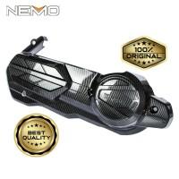 Tutup CVT Carbon NEMO for Yamaha Nmax 2020