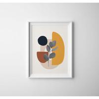 Bingkai Poster Modern Geometric/Frame Poster Modern Geometric (Medium)