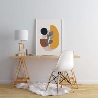 Poster Modern Geometric/Hiasan Dinding Poster Modern Geometric (Medium