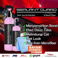 Sealant Guard Master Glaze Pengkilap Body Motor Mobil Wax Nano Ceramic - 100 ml
