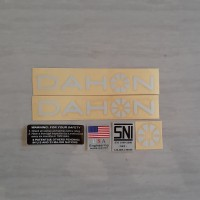 decal stiker sticker frame sepeda lipat seli dahon