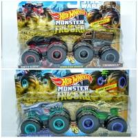 Hot Wheels Monster Trucks Demolition Doubles 2-Pack 1:64 Edisi terbaru