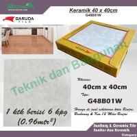 Keramik Garuda 40cm x 40cm G48B01W